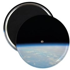 Moon Over the Earth Magnet