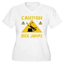 CAUTION BOX JUMPS T-Shirt