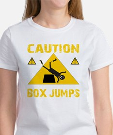 CAUTION BOX JUMPS - BLACK Tee
