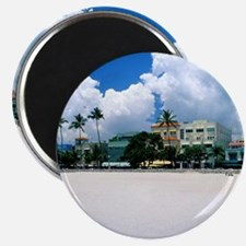 Ocean Drive, South Miam Beach, Miami - Flor Magnet