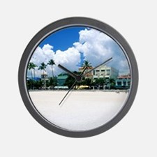 Ocean Drive, South Miam Beach, Miami -  Wall Clock