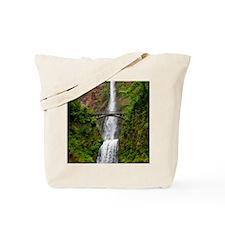 Multnomah Waterfall at Oregon. Columbia R Tote Bag