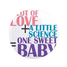 """IVF Baby 3.5"""" Button"""