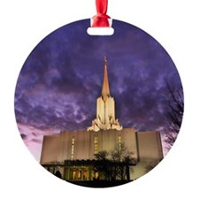 Jordan River Utah LDS (Mormon) Temp Ornament