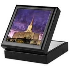Jordan River Utah LDS (Mormon) Temple Keepsake Box