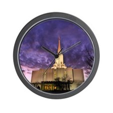 Jordan River Utah LDS (Mormon) Temple,  Wall Clock