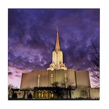 Jordan River Utah LDS (Mormon) Temple Tile Coaster
