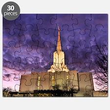 Jordan River Utah LDS (Mormon) Temple, US. Puzzle