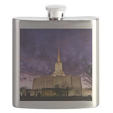 Jordan River Utah LDS (Mormon) Temple, US. Flask