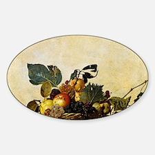 Caravaggios Basket of Fruit Decal