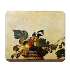Caravaggios Basket of Fruit Mousepad