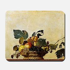 Caravaggios Basket of Fruit Mousepad