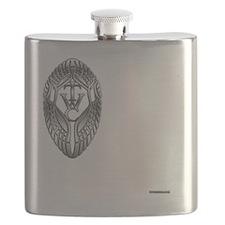 Round Eagle Flask