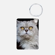 Persian gray cat. Keychains
