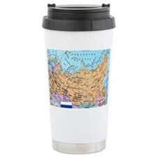 MAP OF RUSSIA Travel Mug