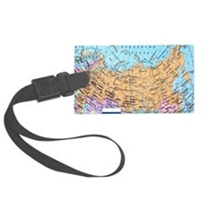 MAP OF RUSSIA Luggage Tag