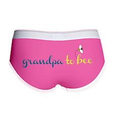 Grandpa to Bee Women's Boy Brief