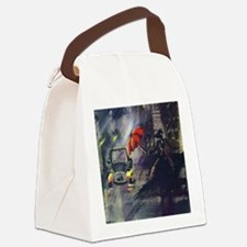 In search. Canvas Lunch Bag