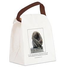 Ape Card Canvas Lunch Bag