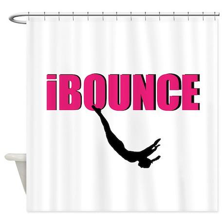 Trampoline Sport Shower Curtain By Designsbyalexh