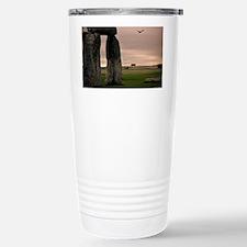Picture of bird flying  Travel Mug