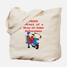 Proud of Stay-at-home Defense Tote Bag