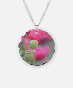 Poppies, Bourges, France. Necklace