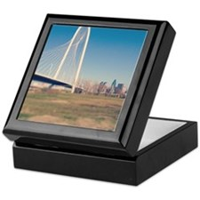 Margaret Hunt Hill bridge, Dallas. Keepsake Box