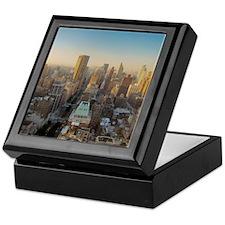 New York City, Manhattan, Midtown, Pa Keepsake Box
