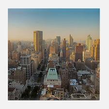 New York City, Manhattan, Midtown, Pa Tile Coaster