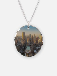 New York City, Manhattan, Mi Necklace