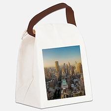 New York City, Manhattan, Midtown Canvas Lunch Bag