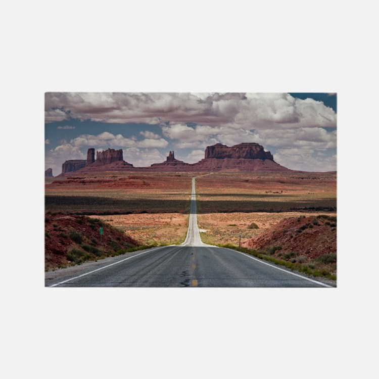 Monument Valley. Rectangle Magnet