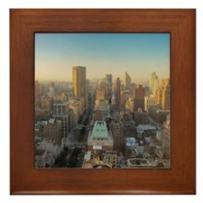 New York City, Manhattan, Midtown, Par Framed Tile