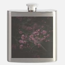 Plum blossoms. Flask