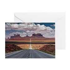 Monument Valley. Greeting Card