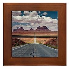 Monument Valley. Framed Tile