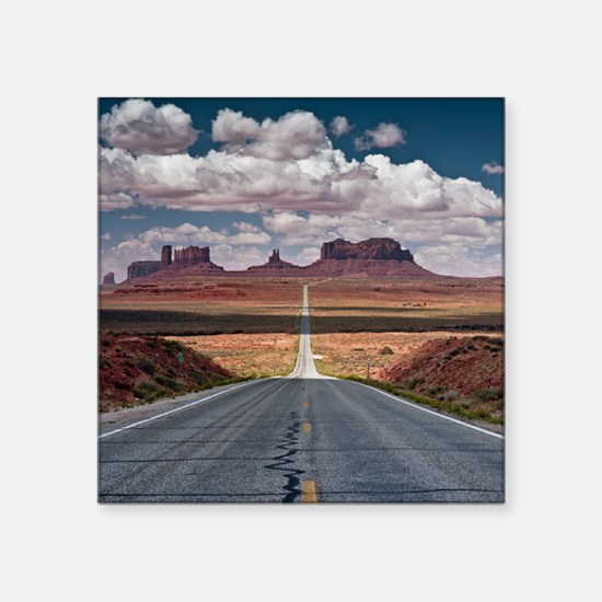 "Monument Valley. Square Sticker 3"" x 3"""