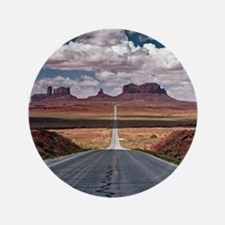 """Monument Valley. 3.5"""" Button"""
