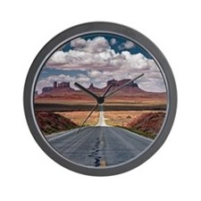 Monument Valley. Wall Clock