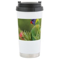 Rainbow Lorikeet, Kario Travel Coffee Mug