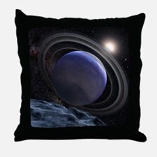 Extrasolar Planet Throw Pillow