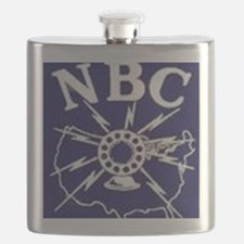 NBC Blue Network logo Flask