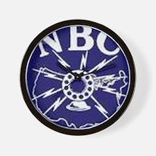 NBC Blue Network logo Wall Clock