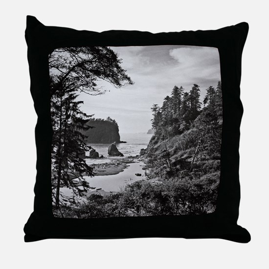 Ruby Beach, Olympic National Park, Wa Throw Pillow