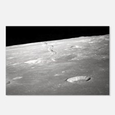 Moon Surface and Horizon Postcards (Package of 8)