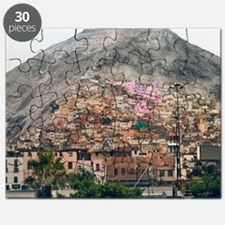 San Cristobal Hill in Lima. Puzzle