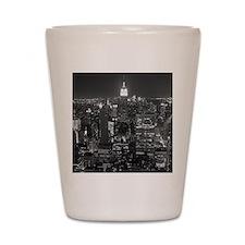 New York City at Night. Shot Glass