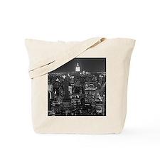 New York City at Night. Tote Bag
