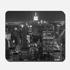 New York City at Night. Mousepad